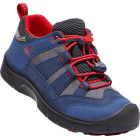 Keen Hikeport WP Shoes Youth dress blues/firey red